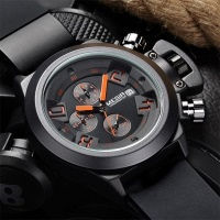Gearbest MEGIR 2002 Quartz Men Watch Three Working Sub-dials